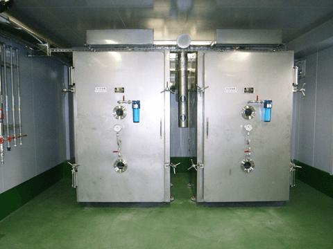 箱型棚段真空乾燥機